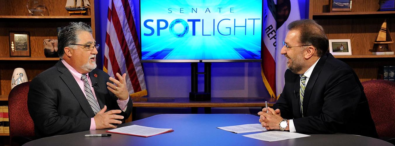 Senator Portantino on Senate Spotlight